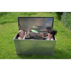 Garten-Aufbewahrungsbox als Pool
