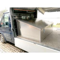 schräge Aluminium Pritschenbox