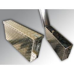 Deichselbox Aluminium-Riffelblech