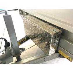 Aluminium-Riffelblech Deichsel