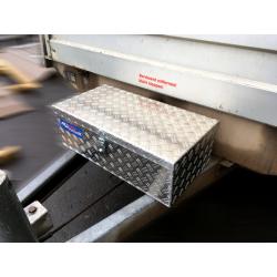 Aluminium Deichselbox klein
