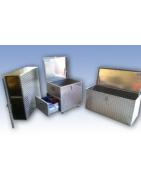 Aluminiumkisten Aluminium Riffelblech Spritzwasserdicht Wasserfest