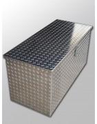 Pritschenboxen Aluminiumboxen Aluminiumtransportkisten Ladeflaeche